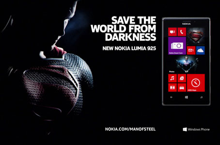 NOKIA x MAN OF STEEL