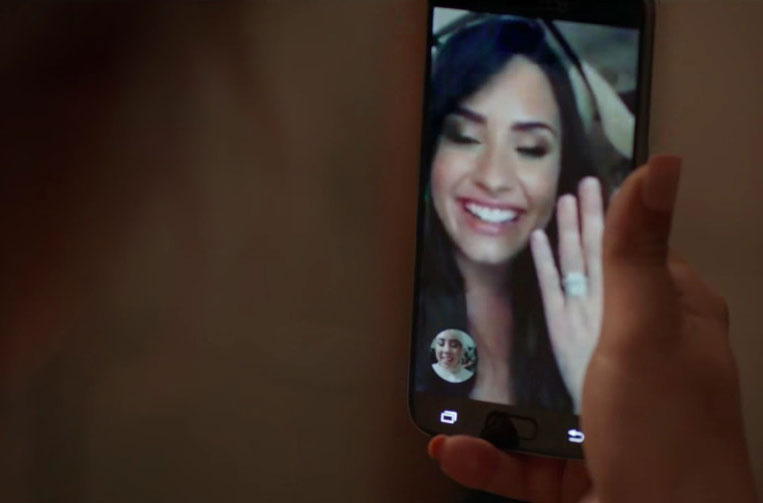 GOOGLE DUO x DEMI LOVATO